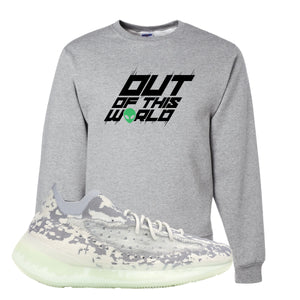 Yeezy 380 Alien Crewneck Sweatshirt | Athletic Heather, Outta This World