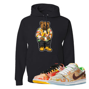 SB Dunk Low Street Hawker Hoodie | Sweater Bear, Black