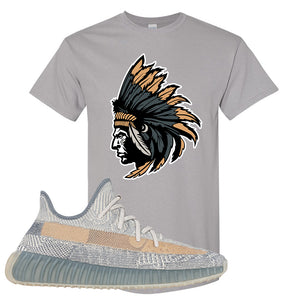 Yeezy Boost 350 V2 Israfil T Shirt | Gravel, Indian Chief