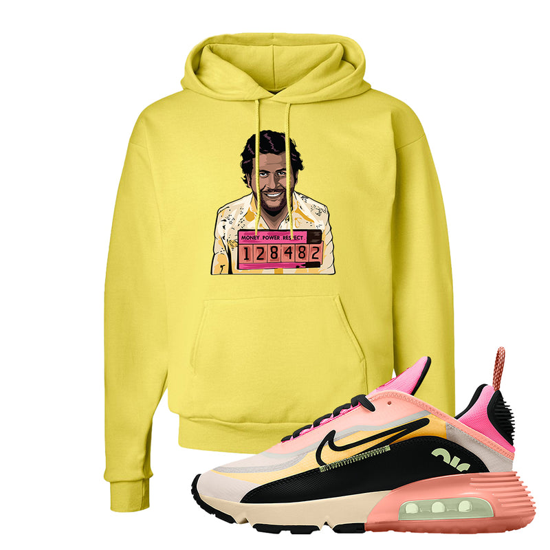 Air Max 2090 WMNS Neon Highlighter Hoodie | Yellow, Escobar Illustration