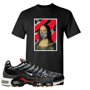 Air Max Plus Remix Pack T Shirt | Mona Lisa Mask, Black