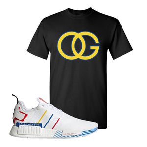 NMD R1 Olympic Pack T Shirt | Black, OG