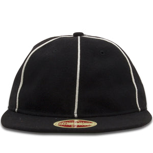 The Philadelphia Phillies 1903 Heritage Series Black 59Fifty Fitted Cap features a wool-like material and a very simple construction with a retro crown that'll help you rep the Phillies in the most authentic way