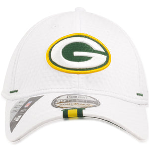 Green Bay Packers 2019 Training Camp White 39Thirty Flexfit Cap