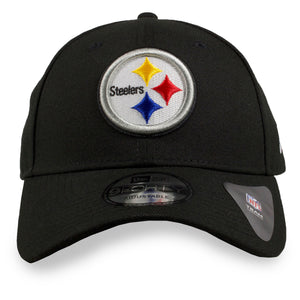 Pittsburgh Steelers Classic Team Logo Adjustable 9Forty New Era Dad Hat