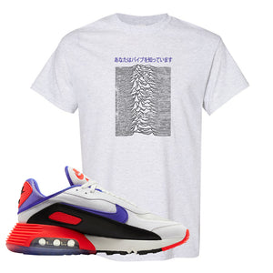 Air Max 2090 Evolution Of Icons T Shirt | Vibes Japan, Ash