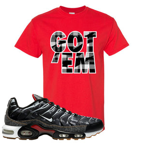 Air Max Plus Remix Pack T Shirt | Got Em, Red