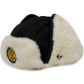 Boston Bruins Black '47 Brand Ushanka Trapper Hat