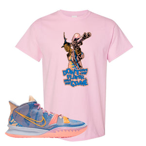 Kyrie 7 Expressions T-Shirt | Dont Hate The Playa, Light Pink