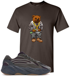 Yeezy Boost 700 Geode Sneaker Hook Up Polo Sweater Bear Dark Chocolate T-Shirt