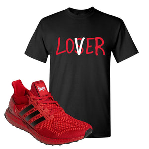 Ultra Boost 1.0 Nebraska T-Shirt | Lover, Black