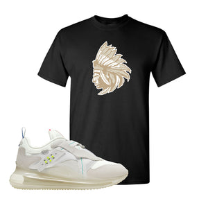 Air Max 720 OBJ Slip White T Shirt | Black, Indian Chief