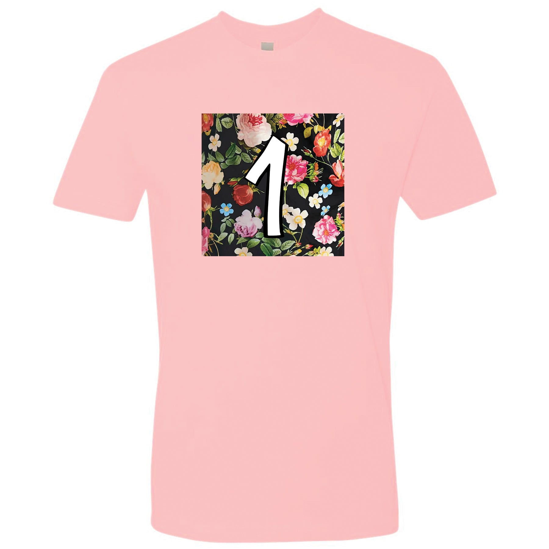 47dc57590c9 Air Foamposite One Floral Sneaker Matching Floral Box 1 Pink T-shirt ...