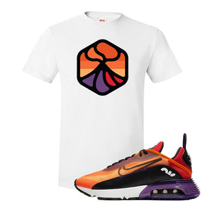 Air Max 2090 Magma Orange T Shirt | White, Volcano 1