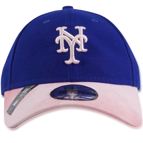 b2a8893d5189b New York Mets 2019 Mother s Day Blue on Pink 9Twenty Dad Hat
