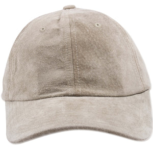 Mitchell and Ness Light Brown Suede Blank Adjustable Dad Hat