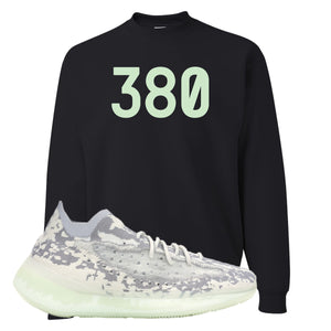 Yeezy 380 Alien Crewneck Sweatshirt | Black, 380
