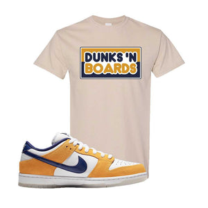 SB Dunk Low Laser Orange T Shirt | Sand, Dunks N Boards