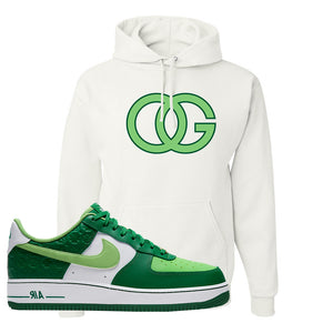 Air Force 1 Low St. Patrick's Day 2021 Hoodie | OG, White