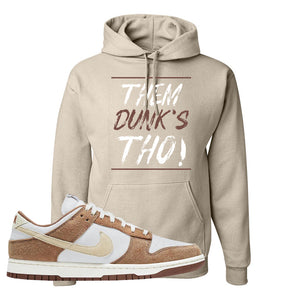 Dunk Low Medium Curry Hoodie | Them Dunks Tho, Sand