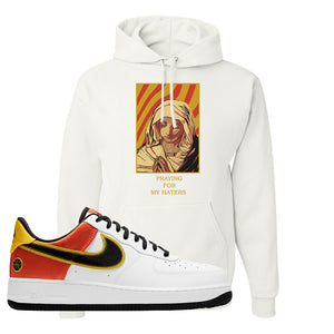 Air Force 1 Low Roswell Rayguns Hoodie | God Told Me, White