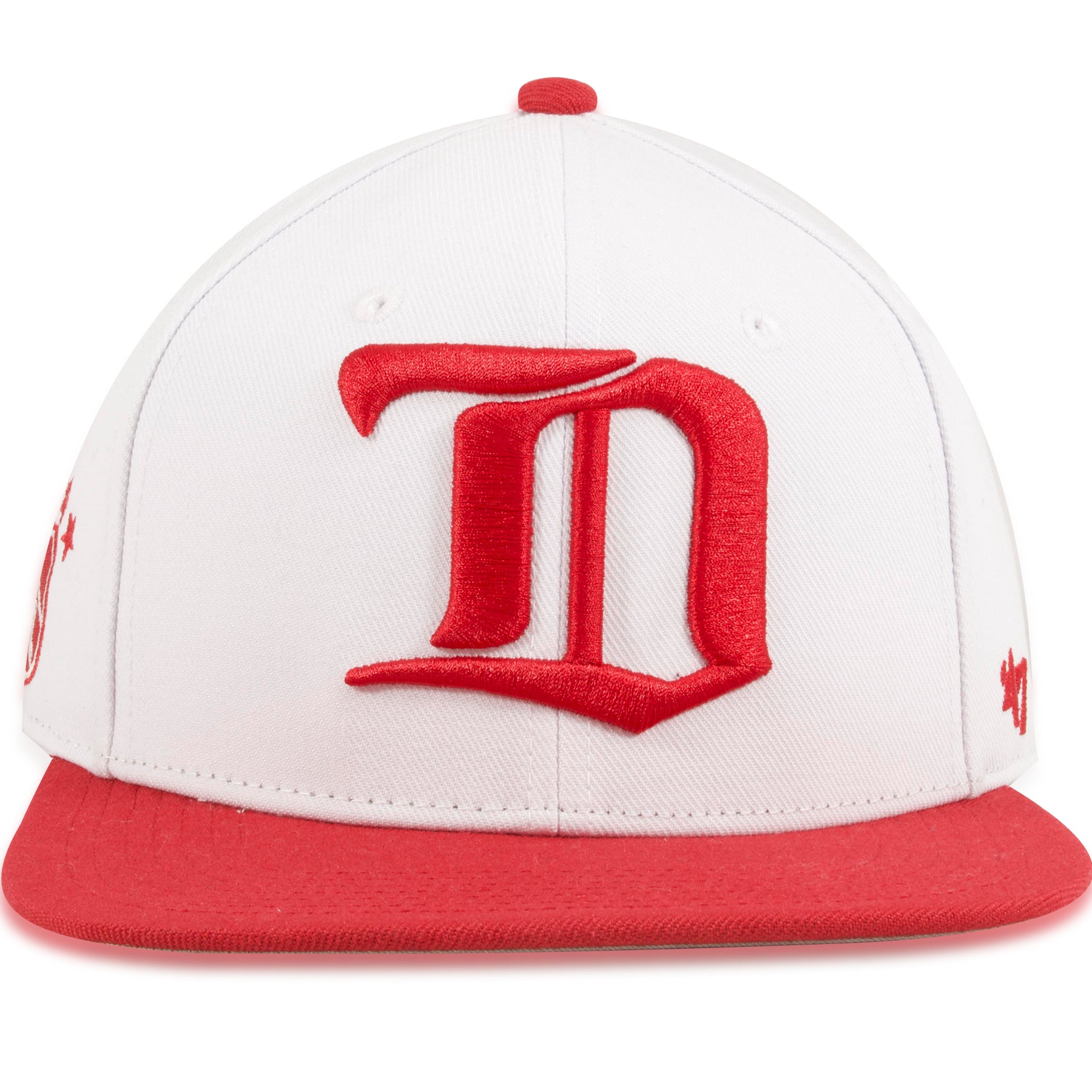 e90c48af Detroit Red Wings Two Tone White / Red Sure Shot '47 Brand Snapback Hat