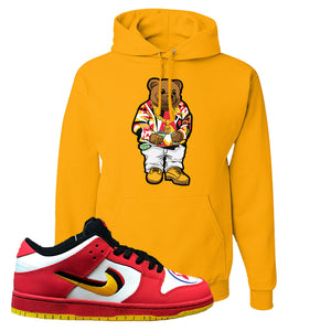 Nike Dunk Low Vietnam 25th Anniversary Pullover Hoodie | Sweater Bear, Gold