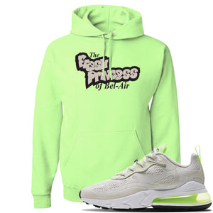 Air Max 270 React Ghost Green Sneaker Neon Green Pullover Hoodie | Hoodie to match Nike Air Max 270 React Ghost Green Shoes | Fresh Prince Of Bel Air