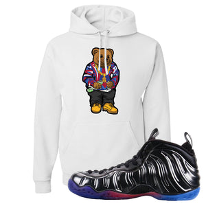 Air Foamposite One QS Gradient Soles Hoodie | Sweater Bear, White