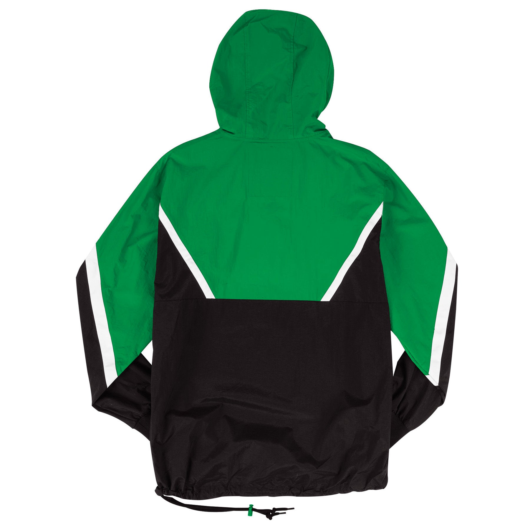 b4f2f04a44c ... the throwback Philadelphia Eagles anorak jacket is kelly green and  black with white accents