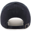 the back of the '47 brand nfc champions dad hat is a black adjustable strap