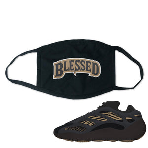 Yeezy 700 v3 Eremial Face Mask | Blessed Arch, Black
