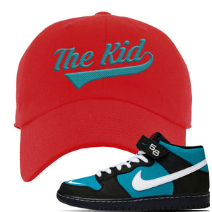 SB Dunk Mid Griffey Dad Hat | Red, The Kid