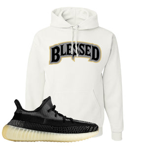 Yeezy Boost 350 v2 Carbon Hoodie | Blessed Arch, White