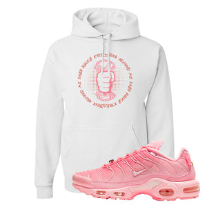 Air Max Plus Atlanta City Special Hoodie | Cash Rules Everything Around Me, White