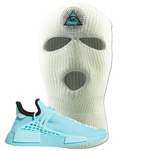 Pharell x NMD Hu Aqua Ski Mask | All Seeing Eye, White