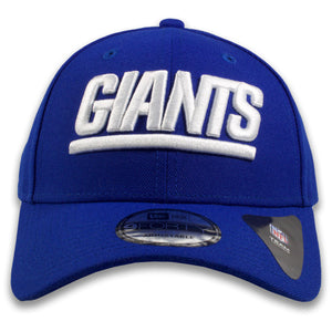 New York Giants Classic Wordmark Adjustable Royal Blue 9Forty New Era Dad Hat