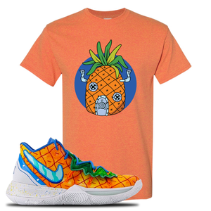 Kyrie 5 Pineapple House Pineapple House Sunset Sneaker Hook Up T-Shirt