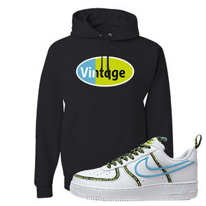 Air Force 1 '07 PRM 'Worldwide Pack' Hoodie | Black, Vintage Oval