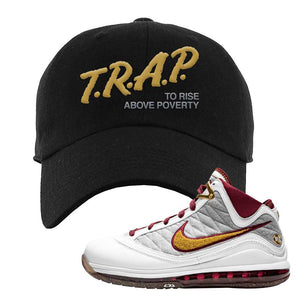 LeBron 7 MVP Dad Hat | Black, Trap To Rise Above Poverty