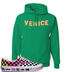 Vans Era Venice Beach Pack Hoodie | Kelly, Venice Sign