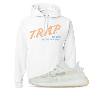 Yeezy Boost 350 Hyperspace Sneaker Hook Up Trap Rise Above White Hoodie