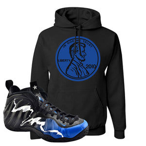 Air Foamposite One 1996 All-Star Game Hoodie | Penny, Black