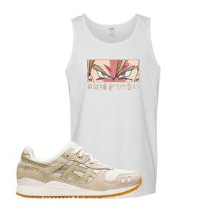 GEL-Lyte III 'Monozukuri Pack' Tank Top | White, Eyes Don't Lie