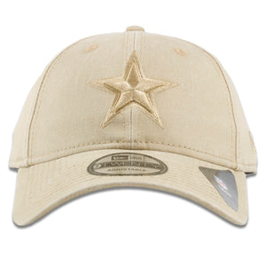Dallas Cowboys Tonal Camel Tan 9Twenty Adjustable Dad Hat