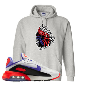 Air Max 2090 Evolution Of Icons Hoodie | Indian Chief, Ash