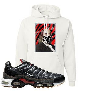 Air Max Plus Remix Pack Hoodie | Ben Franklin Mask, White