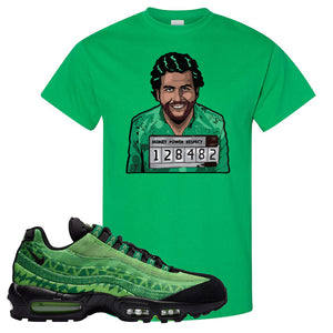 Air Max 95 Naija T Shirt | Escobar Illustration, Irish Green