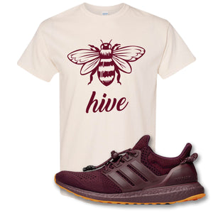 Bee Hive Natural T-Shirt to match Ivy Park X Adidas Ultra Boost Sneaker