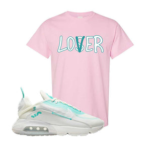 Air Max 2090 Pristine Green T Shirt | Light Pink, Lover